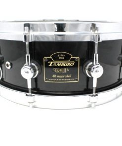 Tamburo Formula Custom Maple 14x5,5 Piano Black snare snaredrum drum