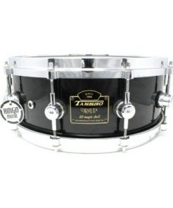 Tamburo Formula Custom Maple 14x5,5 Piano Black snare snaredrum drum1