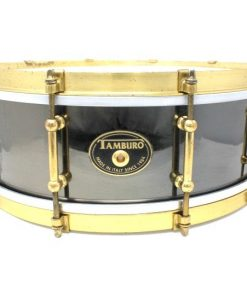 Tamburo Metal Brass Limited Edition Black Nickel 14x5 snare snaredrum drum