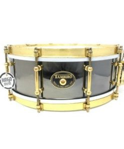 Tamburo Metal Brass Limited Edition Black Nickel 14x5 snare snaredrum drum1