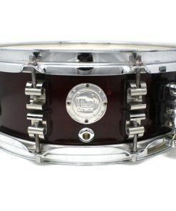 Vibe Break Custom Bordeaux Metallic snare snaredrum drum