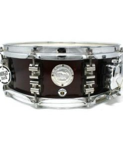 Vibe Break Custom Bordeaux Metallic snare snaredrum drum1