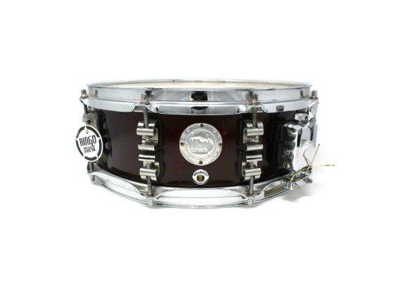 Vibe Break Custom Bordeaux Metallic snare snaredrum drum1