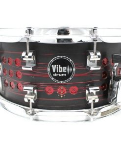 Vibe Elite Custom 14x6,5 Devil Stud snare snaredrum drum