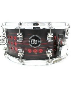 Vibe Elite Custom 14x6,5 Devil Stud snare snaredrum drum1