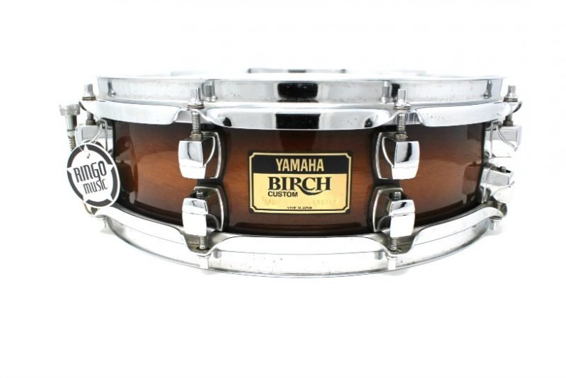 Yamaha Birch Custom 14x4 snare snaredrum drum