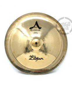 "Zildjian A Custom China 18"" cymbal cymbals piatto piatti"