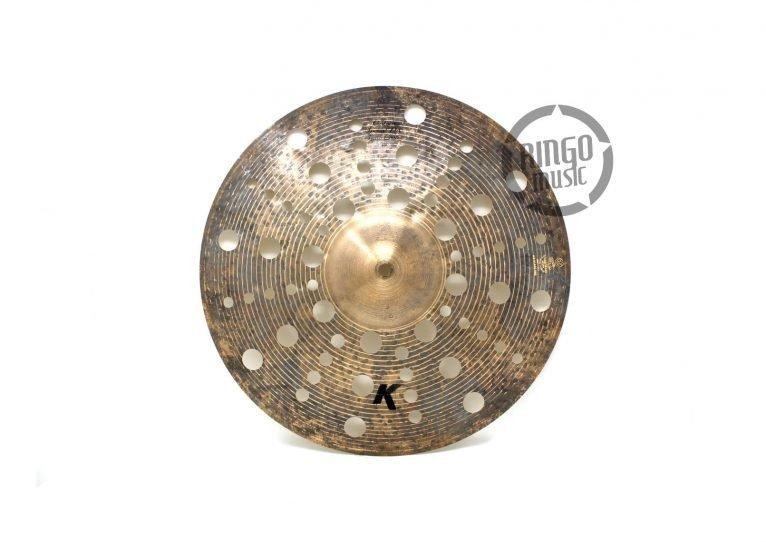 "Zildjian K Custom Special Dry Trash Crash 17"" cymbal cymbals piatto piatti"