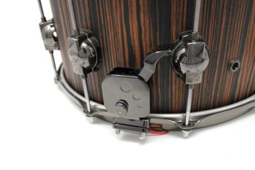 DS DrumSound Rebel Makassar Ebony Solid Satin snare snaredrum drum3