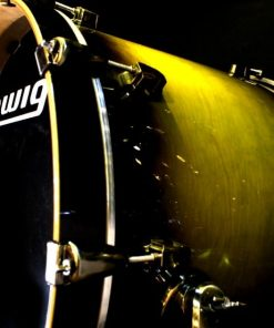 Ludwig Epic LCEP22EXOD Euro Olive Burst Lacquer Drum Drumset Drums Batteria