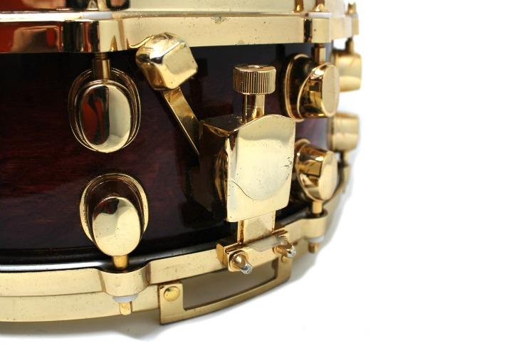 Mapex Orion Wine Burl Burst 14x6 snare snaredrum drum3