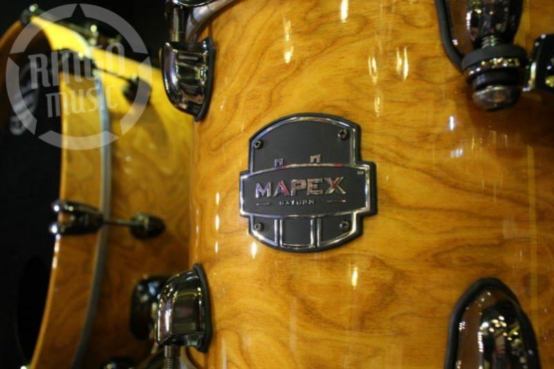 Mapex Saturn Exotic V 5 Amber Maple Burl MNL Drum Drums Drumset Batteria Walnut Maple