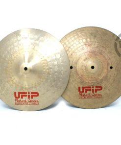 Ufip Natural Series Medium 14 Hi-hat Hats Charleston Piatto Cymbal Selezione NS-14MHH