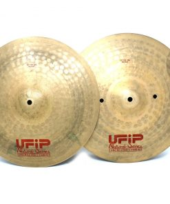 Ufip Natural Series Medium 15 Hi-hat Hats Charleston Piatto Cymbal Selezione NS-15MHH
