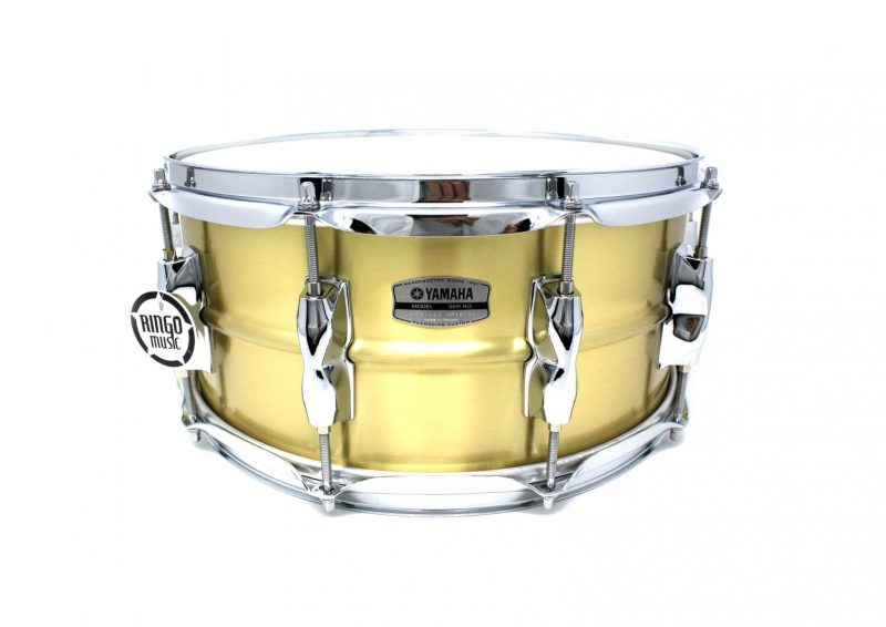 Yamaha Recording Custom 9000 14x6,5 RRS1465 Brass Ottone Drum Drums Drumsnare Snaredrum Rullante