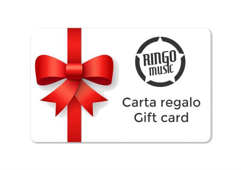 Carta regalo gift card drum drums drumstore batteria percussioni strumenti musicali