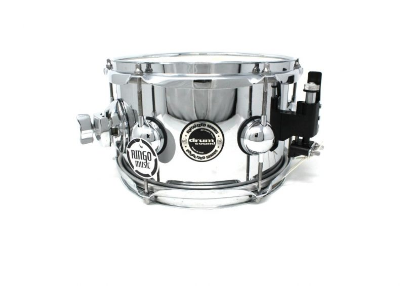 "DS DrumSound Equalized Steel 10x6"" snare snaredrum rullante drumsnare"