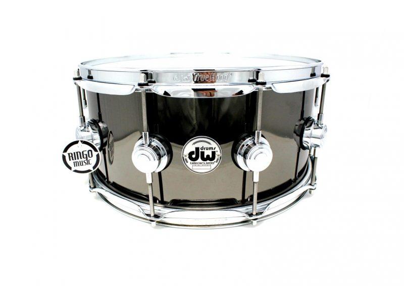DW Drum Workshop Collector's Black Nickel Over Brass 14x6,5 Snare Drumsnare Snaredrum Ottone Rullante