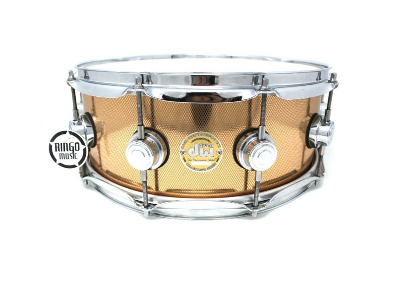 DW Drum Workshop Collector's Knurled Copper 14x5,5 Snare Drumsnare Snaredrum Rame Rullante