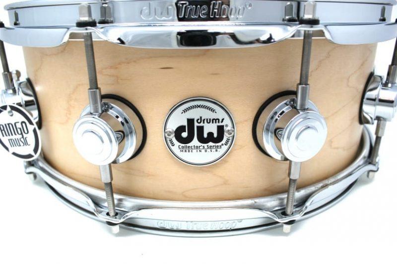"DW Drum Workshop Collector's Maple Satin Oil 14x5,5"" Snare Drumsnare Snaredrum Acero Rullante"