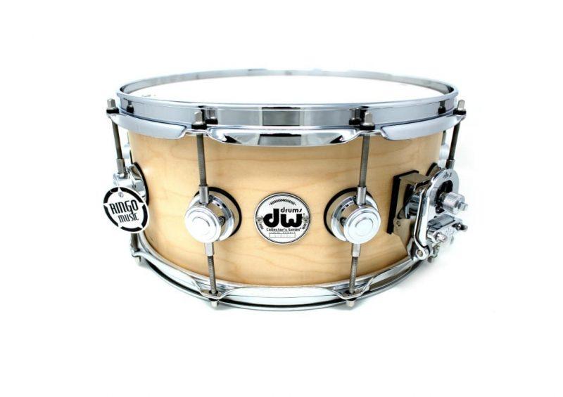 DW Drum Workshop Collector's Maple Satin Oil 14x6 Snare Drumsnare Snaredrum Acero Rullante