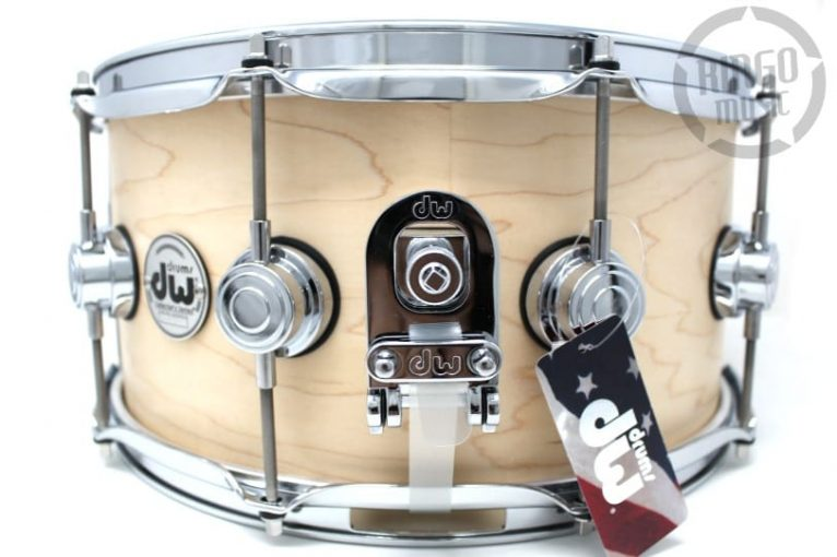 DW Drum Workshop Collector's Maple Satin Oil 14x6,5 Snare Drumsnare Snaredrum Acero Rullante