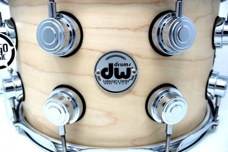 DW Drum Workshop Collector's Maple Satin Oil 14x8 Snare Drumsnare Snaredrum Acero Rullante