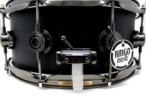 DW Drum Workshop Collector's Maple Satin Oil Matte Black 14x5,5 Snare Drumsnare Snaredrum Acero Rullante
