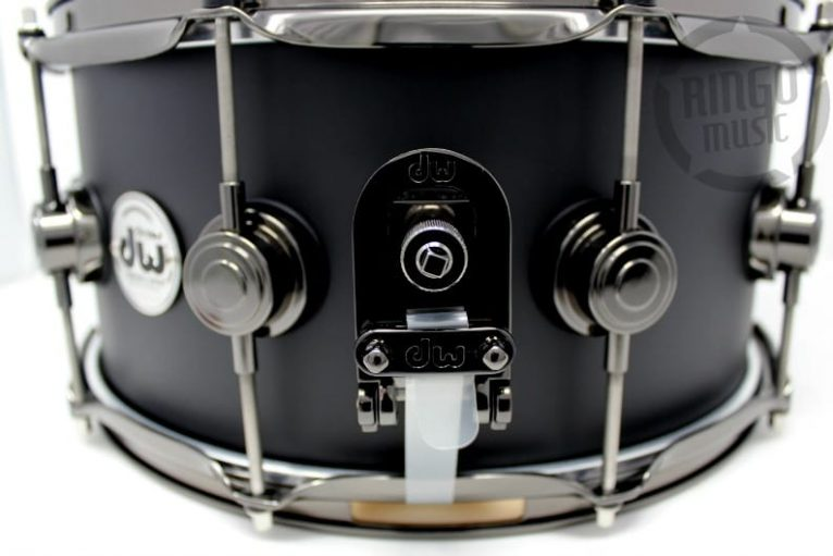 DW Drum Workshop Collector's Maple Satin Oil Matte Black 14x6,5 Snare Drumsnare Snaredrum Acero Rullante