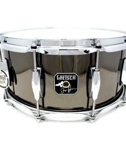 "Gretsch Signature Taylor Hawkins Black Steel 14x6,5"" S-6514-TH"