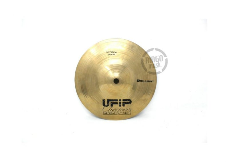 Ufip Class Brilliant Series Splash 8 Piatto Cymbal Selezione CS-08B