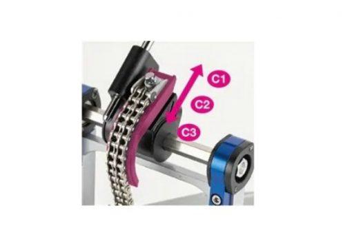 Yamaha Doppio Pedale Chain Drive DFP9C pedal double pedal chain drive3