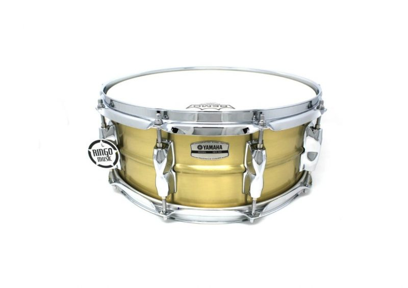Yamaha Recording Custom 9000 14x5,5 RRS1455 Brass Ottone Drum Drums Drumsnare Snaredrum Rullante