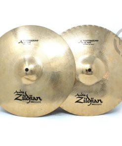 Zildjian A Avedis Brilliant Mastersound Hi-hat 14 Hats Charleston Charly Piatto Cymbal Piatti Cymbals