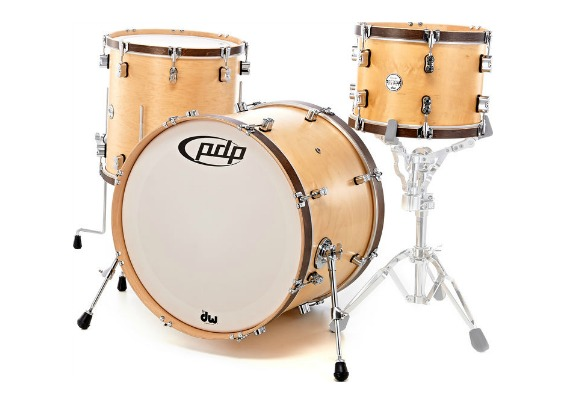 PDP Classic Wood Hoop 22 13 16 natural stain acero maple drums drumset