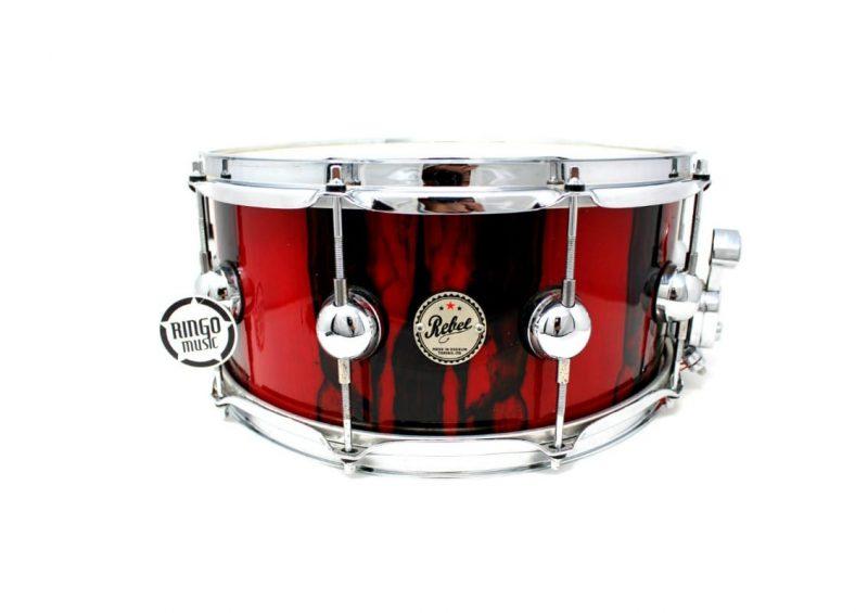DS Drumsound Drum Sound Rebel Hybrid Maple Ebony 14x6,5 Rullante Snaredrum Drumsnare Snare