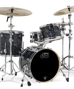 DW Drum Workshop 18 12 14 Black Diamond Be Bop Jazz Club Set Drumset Drum Batteria Maple Acero