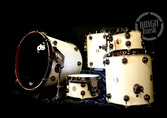 Ds DrumSound Drum Sound Rebel Maple Mahogany 22 10 12 14 16 Drums Drumset Batteria