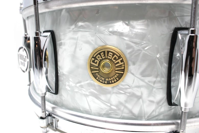 Gretsch Broadkaster Vintage Paul Cooper 60's Marine Pearl 14x5,5 Snare Snaredrum Drumsnare Rullante Drum Drums Maple Poplar Acero Pioppo