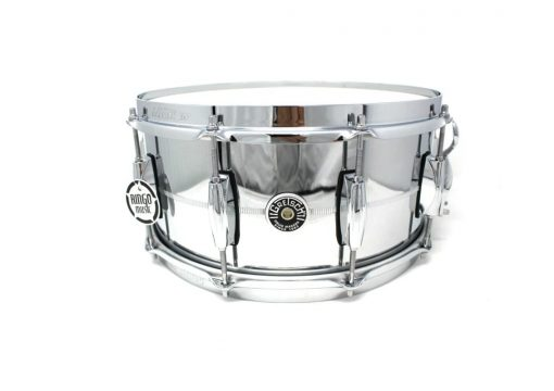 Gretsch Brooklyn Chrome Over Steel 14x6,5 GB4164S snare snaredrum rullante drum drums drumsnare