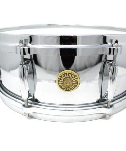 "Gretsch Usa Custom Chrome Over Brass COB 14x5"" G4160 snare snaredrum rullante drum drums drumsnare ottone"
