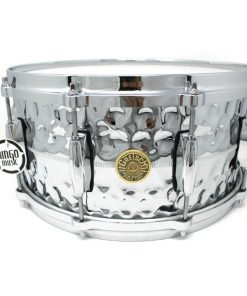 Gretsch Usa Custom Hammered Chrome Over Brass COB 14x6,5 G4164HB snare snaredrum rullante drum drums drumsnare ottone