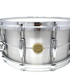Gretsch Usa Custom Solid Aluminum 14x6,5 G4164SA snare snaredrum rullante drum drums drumsnare alluminio