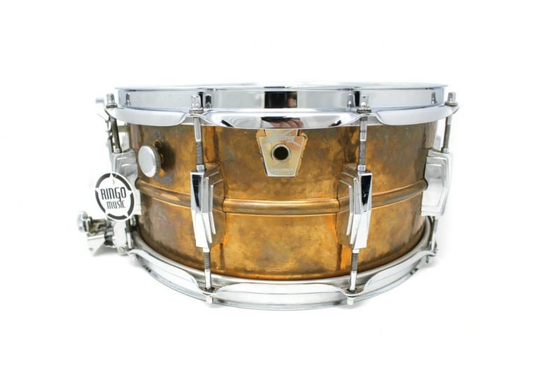 Ludwig Supersensitive Bronze 14x6,5 LB556K Hammered Imperial Snare Drumsnare Snaredrum Rullante