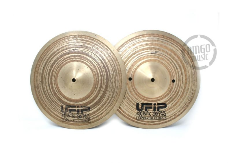 Ufip Extatic Hi-hat Regular 14 piatto piatti cymbal cymbals charleston charly EX-14HHR