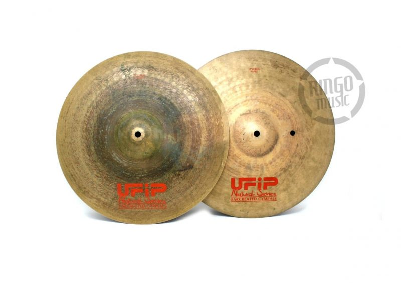Ufip Natural Series Light 15 Hi-hat Hats Charleston Piatto Cymbal Selezione NS-15LHH