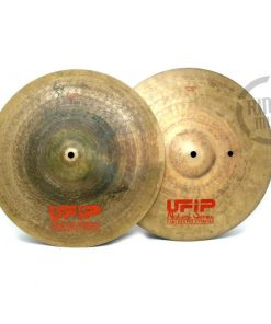Ufip Natural Series Light 15 Hi-hat Hats Charleston Piatto Cymbal Selezione NS-15LHH
