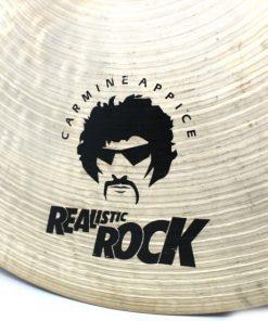 Istanbul Mehmet Signature Carmine Appice Realistic Rock Cymbal Cymbals Piatti Piatto