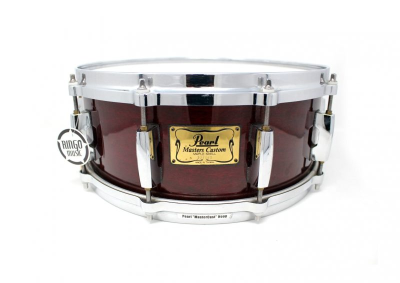 Pearl Masters Custom MMX 14x5 Maple Wine Red Snare Drumsnare Snaredrum Drum Rullante