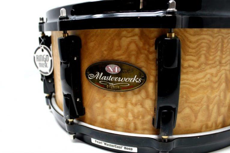 Pearl Masterworks Masterwork 14x6 Drums Drum Snaredrum Drumsnare Rullante Maple Birch Tamo Ash Acero Betulla